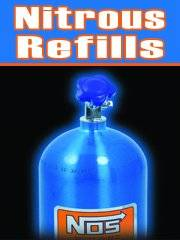 Nitrous Bottles filled $4.00/LB